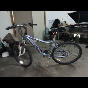Shwin Bike of 7 speeds and front and back brakes.